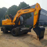 NEW PRODUCT: 15TON WHEEL EXCAVATOR