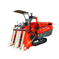 Half Feed Paddy Type Combine Harvester