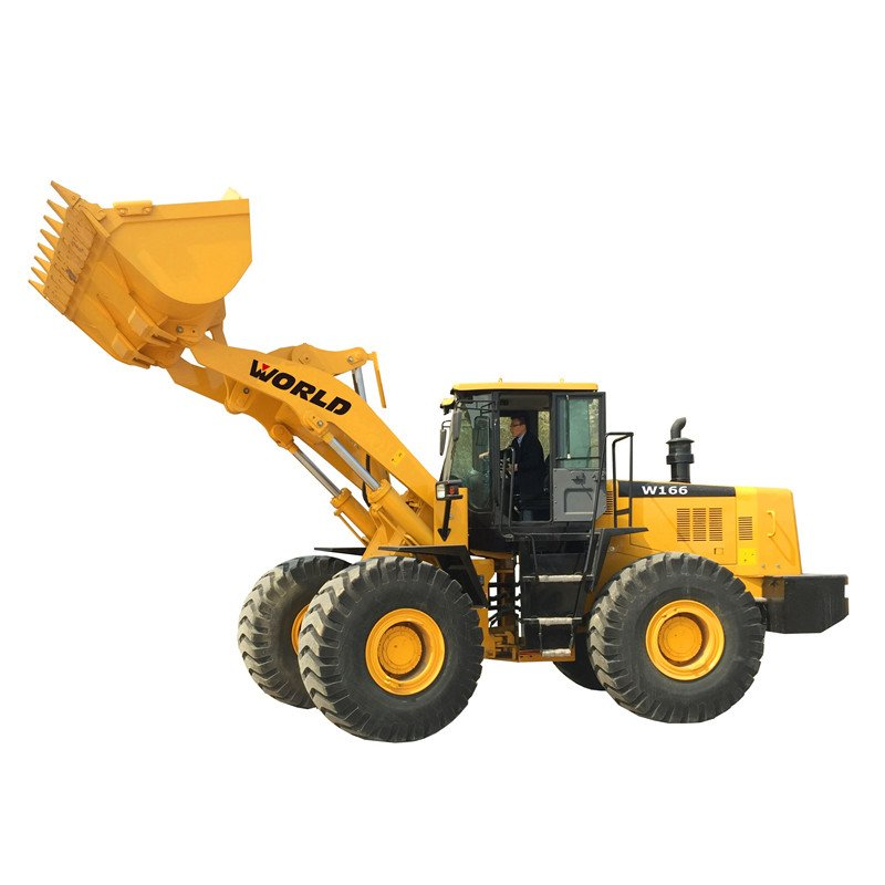 6 Ton Wheel Loader with 3.5 Cbm Bucket