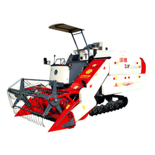 4LZ-4.0A Double Thresher Harvester for Rice